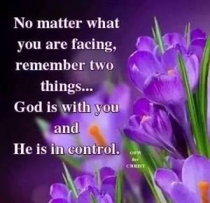Gods in control