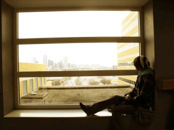 hospital window