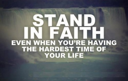 stand in faith