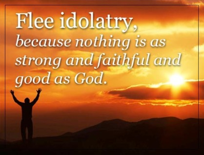 idolatry quote