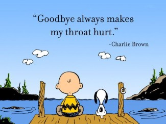 Charlie Brown Goodbye