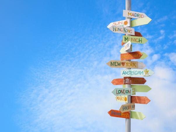 destination-sign