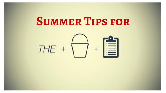 Summer Tips for