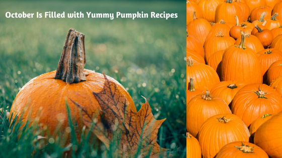 October is filled with Pumpkin Surprises