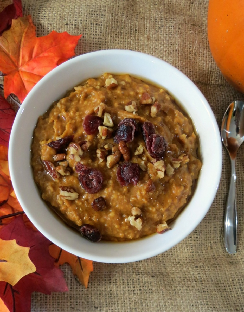 There's a Pumpkin In My Oatmeal!!