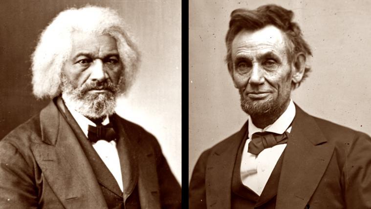Abraham Lincoln and Frederick Douglas