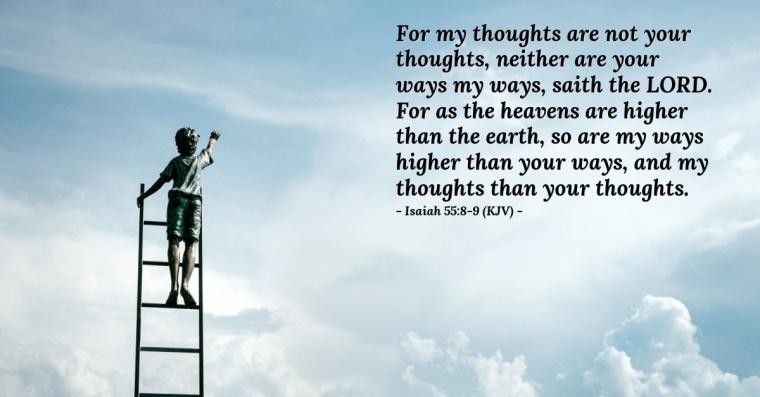 Isaiah 55 8-9