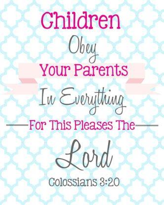 Children Obey