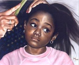 Black Woman - Little Girl