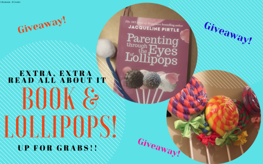 ISSA Giveaway: How About A Book & Some Lollipops!!